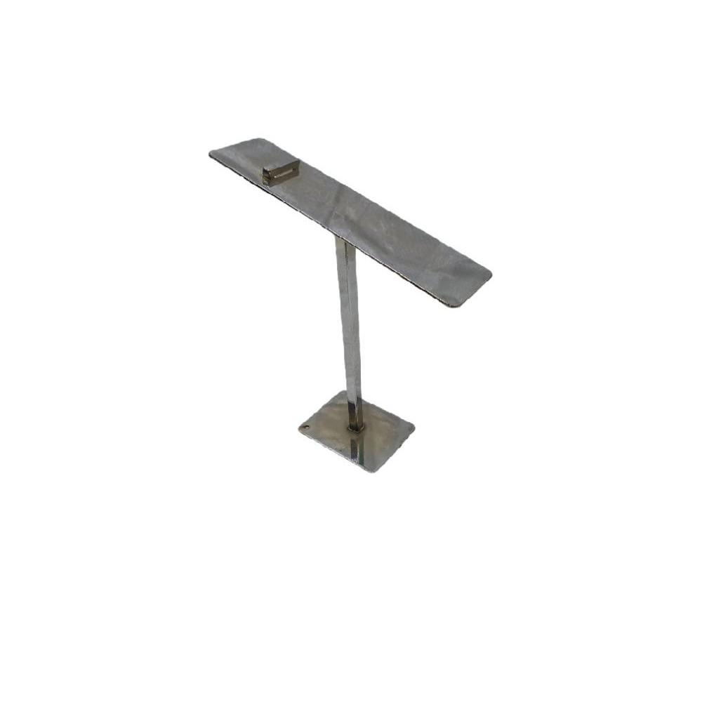 Ayakkabı Teşhir Standı Krom Metal 20 cm