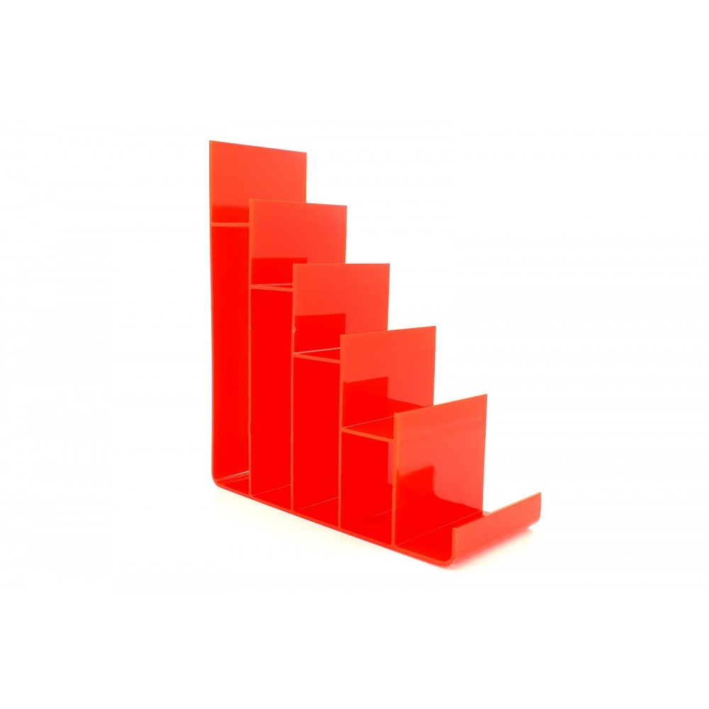 Cüzdan ve Abiye Çanta Teşhir Standı Plastik Kırmızı