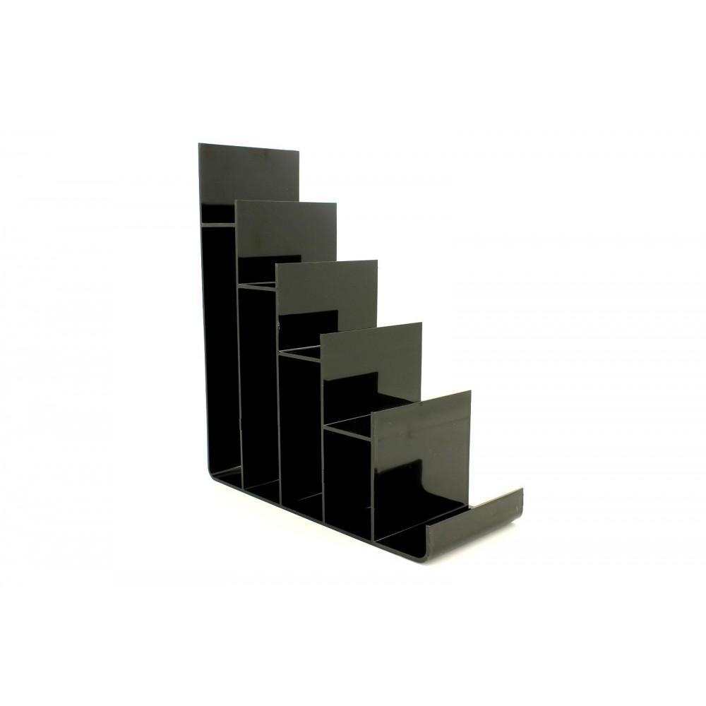 Cüzdan ve Abiye Çanta Teşhir Standı Plastik Siyah